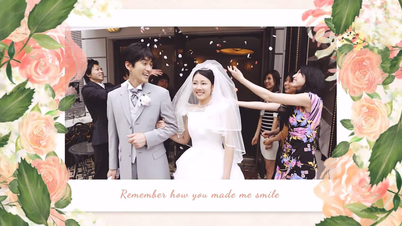結婚式エフェクト
