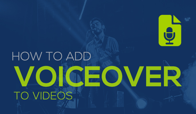 How to Add Voiceover to Videos