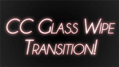 cc glass wipe
