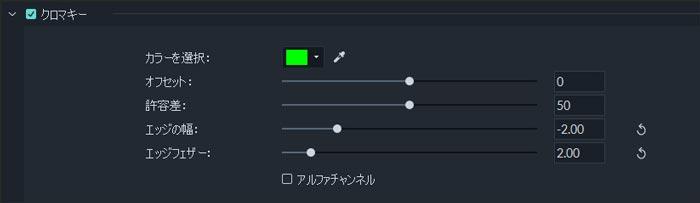 グリーンスクリーンの動画をクロマキー合成