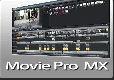 動画編集ソフトMovie Pro MX