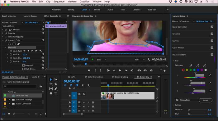 キーフレームで不透明度を調整できる動画編集ソフトadobe premiere pro