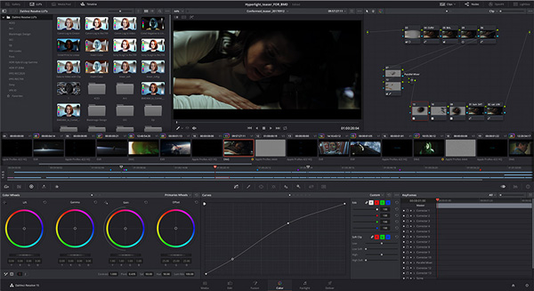 BiackmagicDesign「Davinci Resolve」