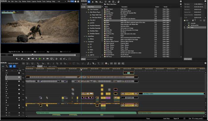 キーフレームで不透明度を調整できる動画編集ソフト edius pro