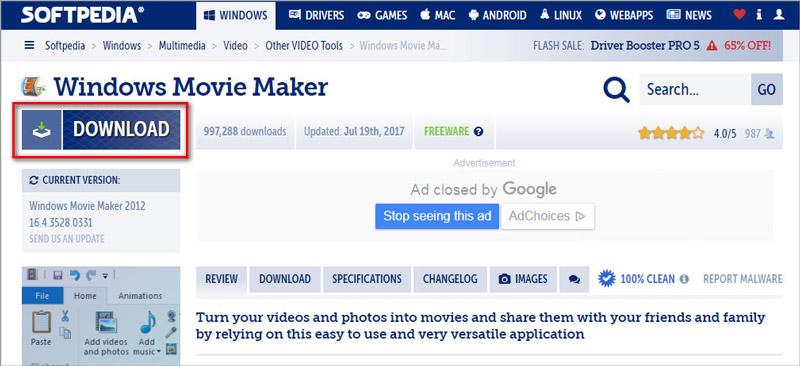 windows7 ムービー メーカー インストール できない