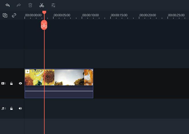 動画のトリミングと多彩なエフェクトの追加